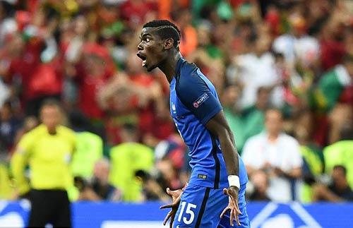 Pogba từ chối gia nhập MU vì không được dự cup C1