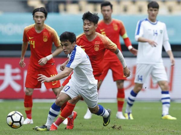 Trung Quốc thất bại trước Uzbekistan, đứng cuối giải China Cup