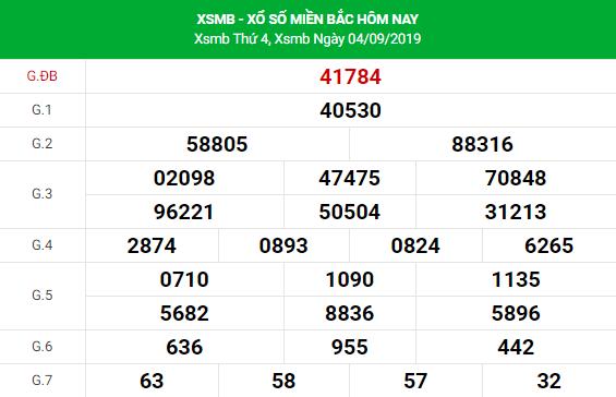 Soi cầu dự đoán XSMB Vip ngày 05/09/2019