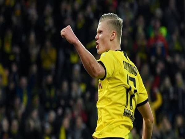 Haaland lập thêm một kỷ lục sau thất bại của Dortmund