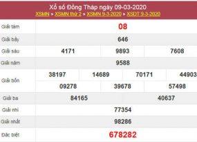 Phân tích KQXS Đồng Tháp 16/3/2020 (Thứ 2 ngày 16/3/2020)