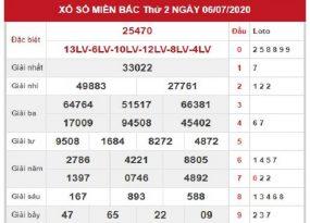 Bảng KQXSMB- Soi cầu xổ số miền bắc ngày 07/07 chuẩn xác