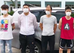 5 người Trung Quốc nhập cảnh trái phép vào quận Hoàng Mai