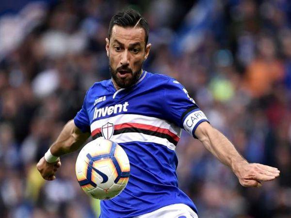 Tin thể thao tối 8/1: Fabio Quagliarella không trở lại Juventus