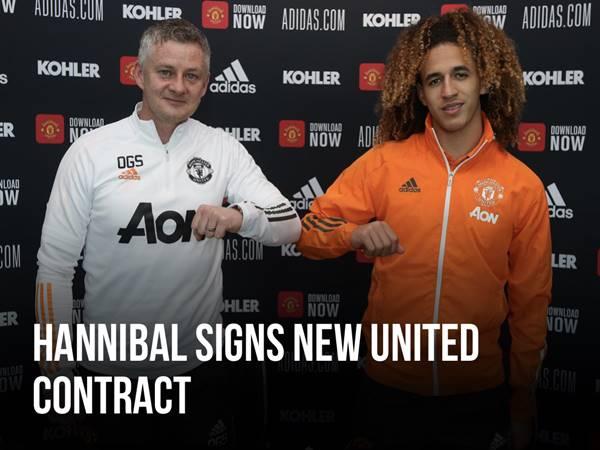Tin CN 16/3: Man United chính thức ký hợp đồng với Hannibal
