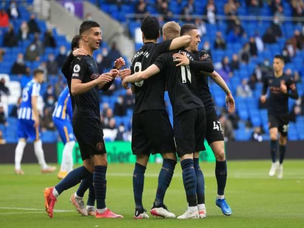Bóng đá Anh tối 19/5: Man City thua Brighton dù dẫn trước 2 bàn