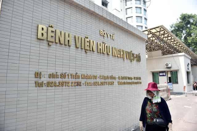 Hà Nội phát hiện ca nghi Covid-19 đến khám tại Bệnh viện Việt Xô