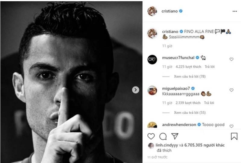 """Juve lách qua khe cửa hẹp, Ronaldo đăng đàn """"khóa miệng"""" anti-fan"""