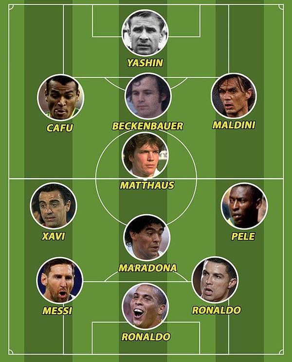 Thể thao 24/5: Công bố Dream Team: Ronaldo, Messi sánh ngang Pele, Maradona