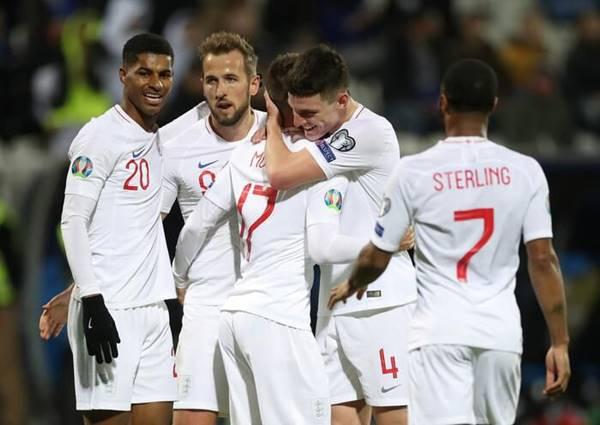 ĐT Anh - Pháp sớm giành vé vào vòng 1/8 EURO 2020