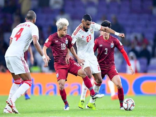 Soi kèo trận đấu UAE vs Thái Lan