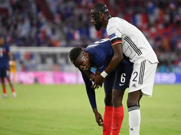 Tin Euro ngày 17/6: Ruediger lên tiếng sau vụ chơi xấu Pogba