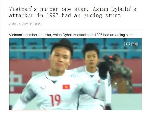 Bóng đá VN 30/6: Trang PP Sports gọi Quang Hải là Dybala châu Á