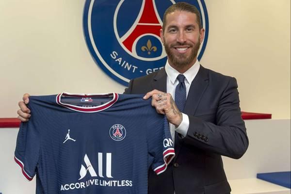 Sergio Ramos chính thức gia nhập PSG