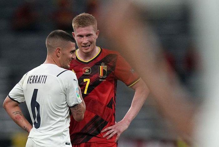 De Bruyne thất vọng khi Bỉ thất bại 1-2 trước Italia