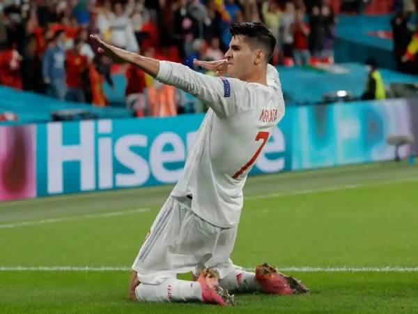 Tin EURO tối 7/7: Morata xô đổ kỷ lục của Fernando Torres